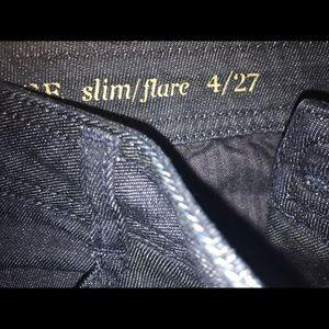 Banana Republic slim flare jeans!